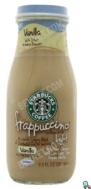 Vanilla Light by Starbucks Frappuccino Bevnet Product Review