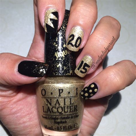 new years nail color new year s nails opi honey avon dazzlers nail pursuit