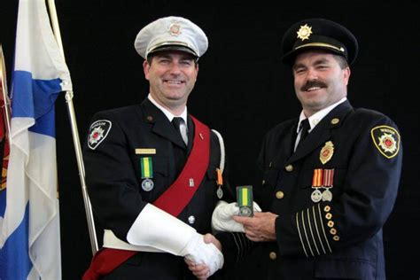 chris sullivan firefighter windsor firefighters feted for 16 plus years of service
