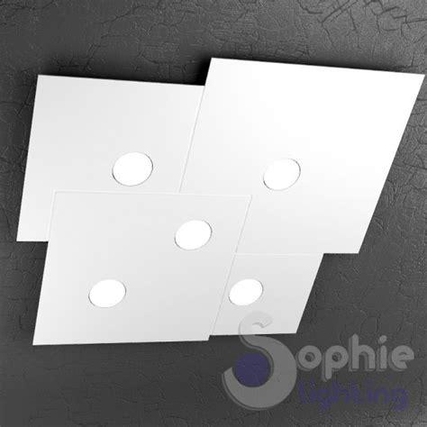plafoniere a soffitto moderne plafoniera soffitto led design moderno metallo bianco