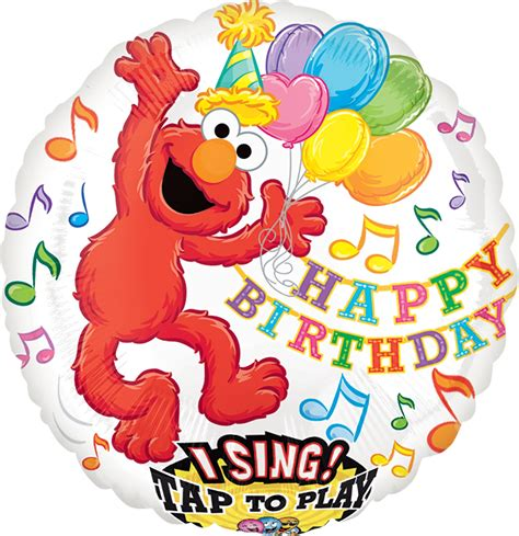 Elmo Xl sing a tune xl elmo birthday