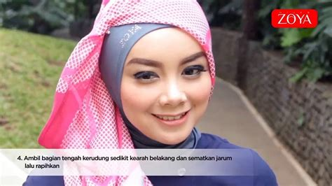 tutorial hijab simple zoya new hijab tutorial 2016 zoya simple dan praktis youtube