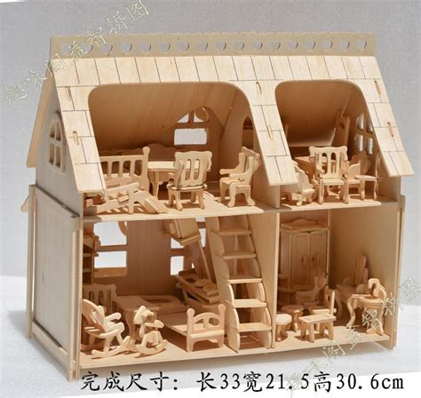 1 24 scale dolls houses wooden furniture model dolls house 1 24 scale diy wooden dolls house handcraft 3d miniature kits