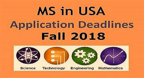 Mba Deadlines For Fall 2017 Usa by Fall 2018 Application Deadlines And Gre Requirements For