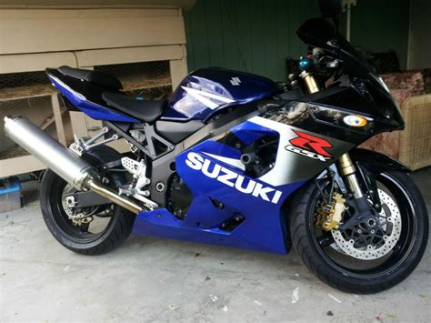 Suzuki 2004 Gsxr 600 2004 Suzuki Gsx R 600 Sportbike For Sale On 2040 Motos