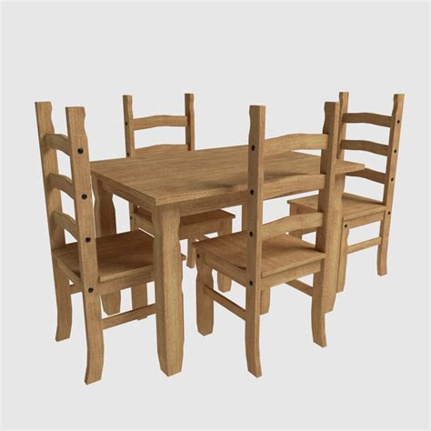 Corona Dining Table And Chairs Free Obj Mode Dining Set Corona Chairs