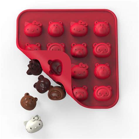Silicone Friend hello friends silicone chocolate mold tr 11832