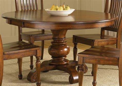 Liberty furniture pedestal dining table