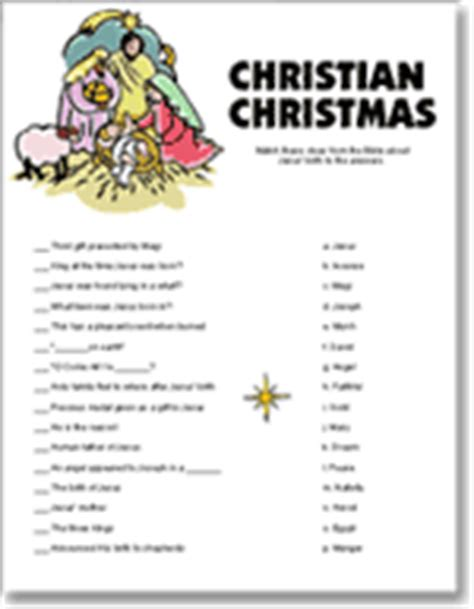 Free Printable Christmas Games Church Party | free printable religious christmas trivia search results