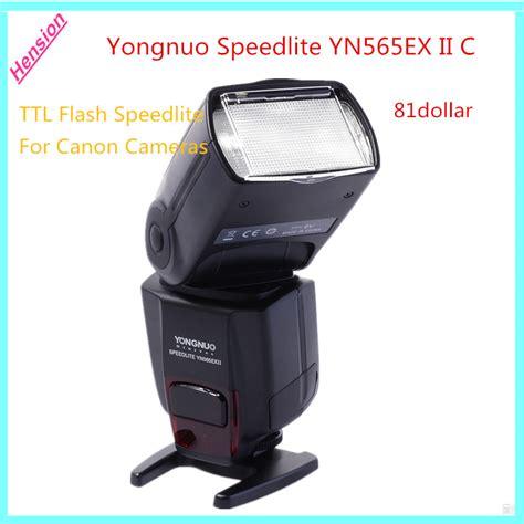 Flash Yongnuo Untuk Canon 600d yongnuo speedlite yn565ex ii c yn 565ex ii wireless ttl