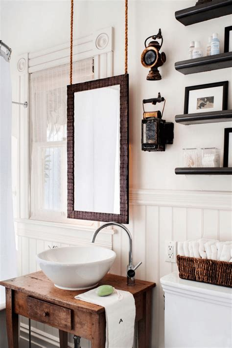 how to hang a bathroom mirror with a frame 38 bathroom mirror ideas to reflect your style