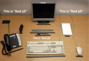 Audio Workstation Desk A Video Showing Office 5s Gone Wrong Lean Blog Lean Blog