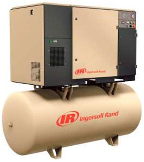 ingersoll rand up6 5tas200 5 hp 80 gallon rotary air compressor 3 phase kms tools