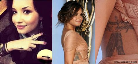demi lovato tattoo removal brainsy tattoos demi lovato