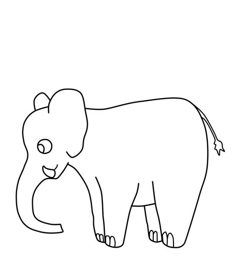 printable pictures elephants free coloring pages of aboriginal elephant