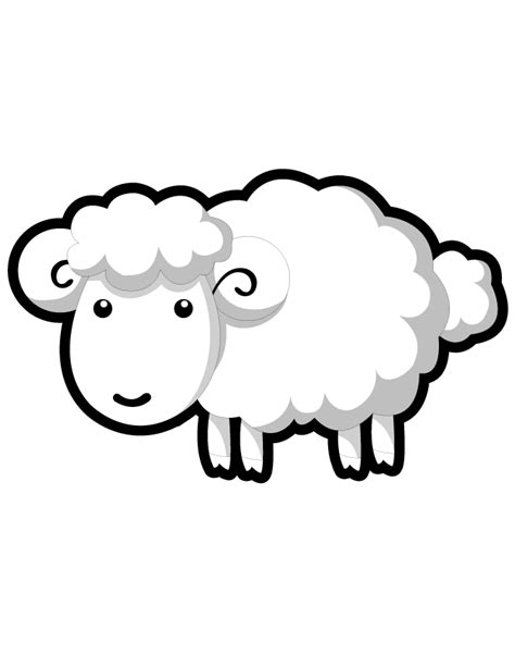 black sheep coloring pages coloring pages for free coloring pages of baby lamb clipart best
