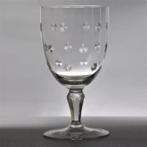 fine crystal fine crystal wine glass canadian star kusak cut glass