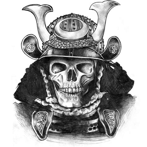 skull samourai tatouage pinterest samurai skulls