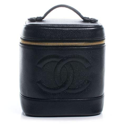 Chanel Vanity Bag by Chanel Caviar Cosmetic Vanity Bag Black