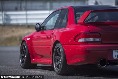 subaru gc8 555 horses of widened fury speedhunters