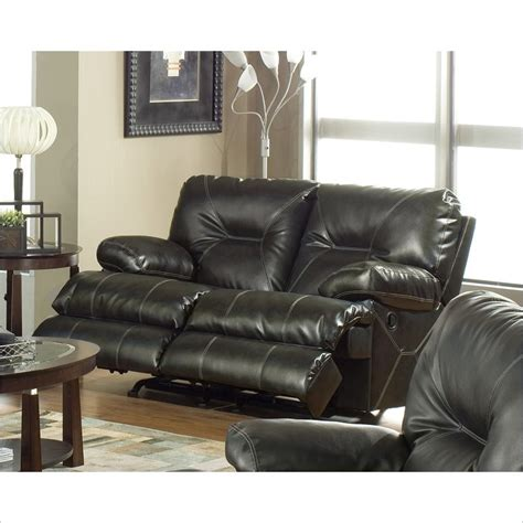 leather rocking reclining loveseat catnapper transformer rocking reclining loveseat in beige