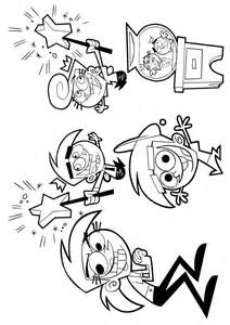 fairly odd parents coloring pages learn to coloring
