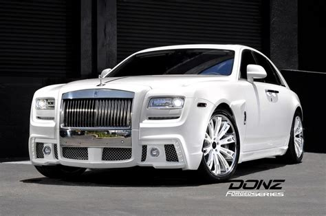 customized rolls royce donz forged wheels on rolls royce ghost mbworld org forums