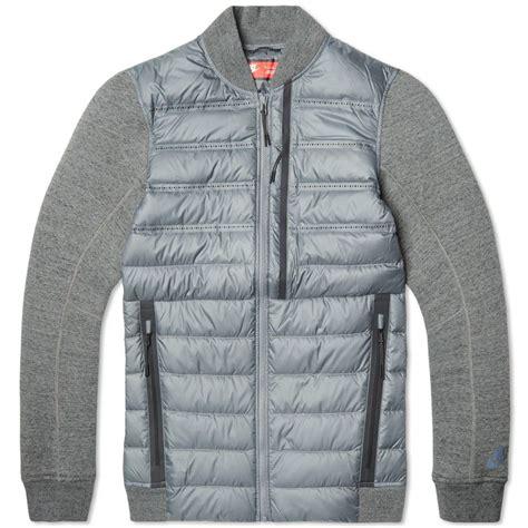 Jacket Nike Fleece nike tech fleece aeroloft bomber jacket fashion details