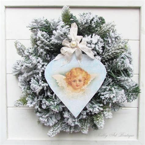 Handmade Vintage Ornaments - handmade vintage ornament shabby