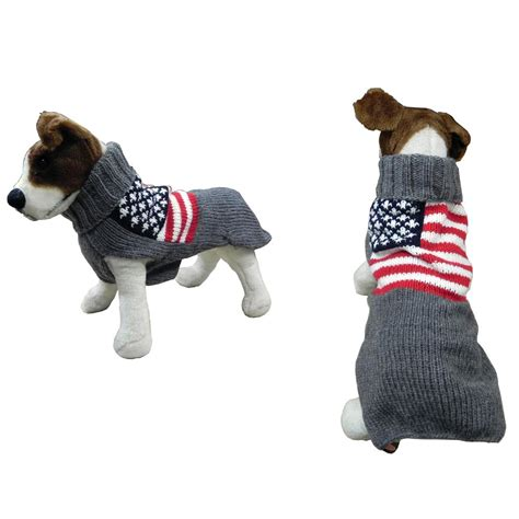 Handmade Sweater - handmade sweater wool american flag large