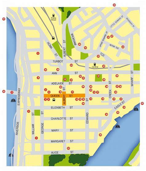 printable map brisbane cbd large brisbane maps for free download and print high