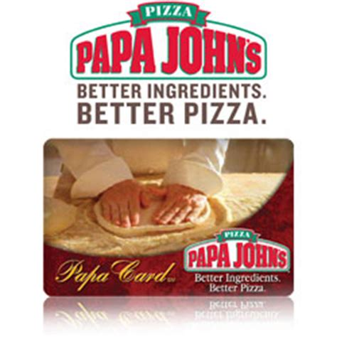 Where Can I Buy Papa John Gift Cards - buy papa john s pizza gift cards at giftcertificates com