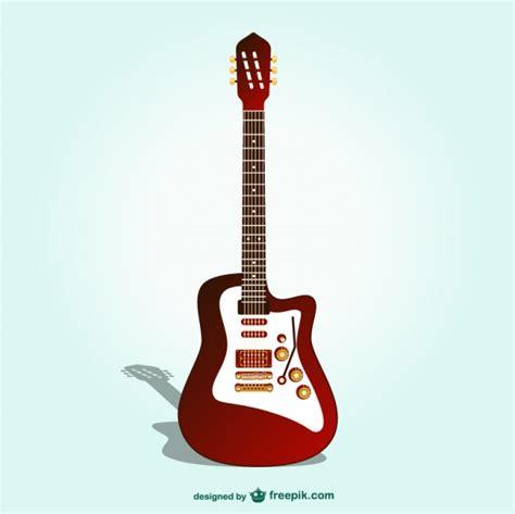 imagenes retro guitarra vector guitarra el 233 ctrica descargar vectores gratis