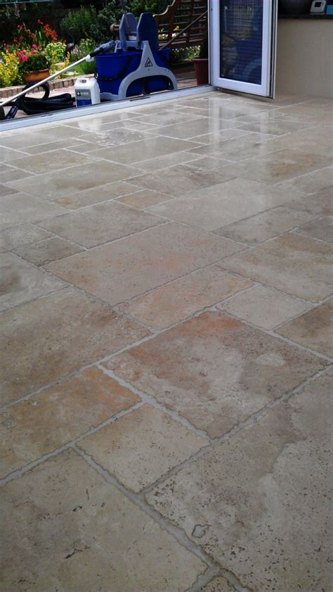 travertine conservatory floor maintenance cleaning