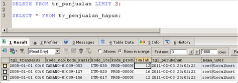 query membuat trigger tutor mysql trigger function view dan stored porcedure
