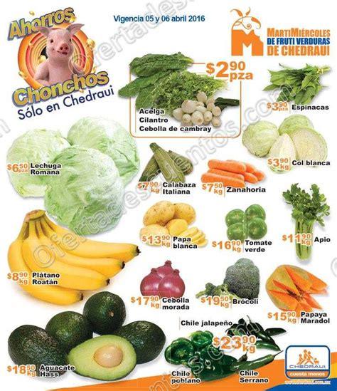 martes y miercoles de frutas y verduras chedraui 28 y 29 de enero chedraui martes y mi 233 rcoles de frutas y verduras 5 y 6 de