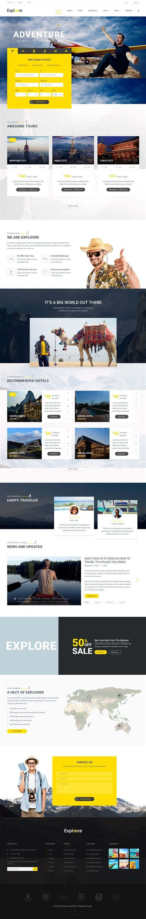 1000 Ideas About Hotel Website On Pinterest Website Layout Food Website And Website Design Tour Operator Website Template