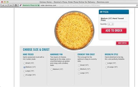 dominos pizza sizes inches notice the sizes large in thailand is 12 quot medium in us