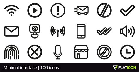minimalist icons minimal interface 100 free icons svg eps psd png files