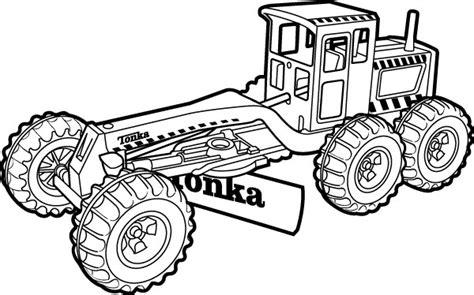 Kinder Pret Tonka Truck Coloring Pages