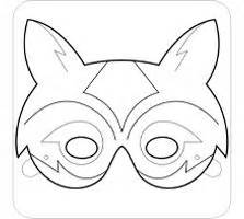 printable raccoon mask template australian animals templates google search vbs