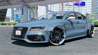 Audi Mods Audi Rs7 X Uk Gta5 Mods