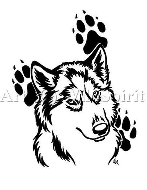 wolf paw print tattoo designs wolf and paw print designs stencil lobo