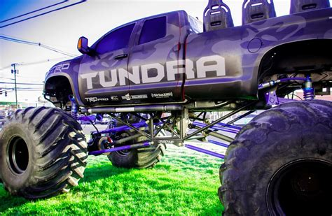 monster truck show ct пазл тойота тундра монстр трак в альбоме автомобили и