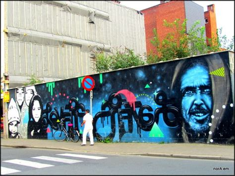 graffiti  actor matthias schoenaerts antwerpen