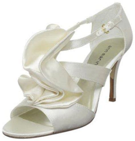 Wedges Pin Merak 4 5cm some various ivory bridal shoes wedges gallery