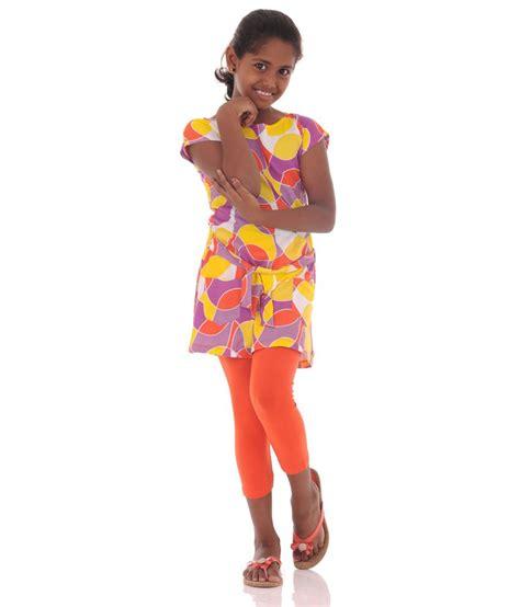 Dress 2 Pcs Orange Qx1802oe bio kid sea wave orange combo 2 pcs set buy bio kid