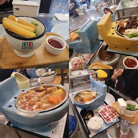 toilet restaurant modern toilet restaurant in taiwan serving food in