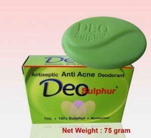 Sabun Deo Sulfur 13 obat menghilangkan bekas jerawat di apotik paling uh