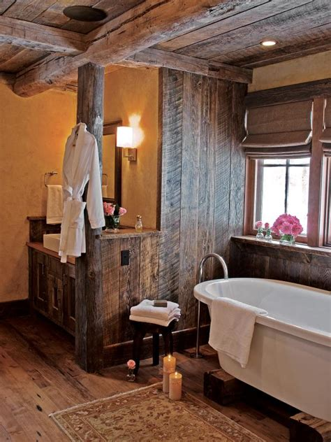 Rustic Country Bathroom Ideas by Country Western Bathroom Decor Hgtv Pictures Ideas Hgtv
